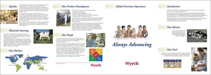 wyeth nutritionals ireland brochure
